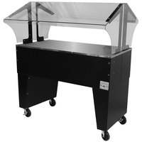 Advance Tabco B3-STU-B Everyday Buffet Solid Top Table with Open Base