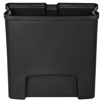 Rubbermaid 1900669 Slim Jim Black Rigid Plastic Liner for 4 Gallon Stainless Steel Front Step-On Trash Can