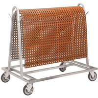 Teknor Apex 755-641 Rak-A-Mat Floor Mat Storage and Transport Cart