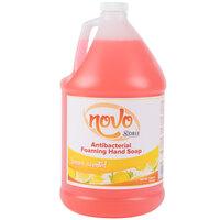 Noble Chemical Novo 1 Gallon Foaming Anti-Bacterial / Sanitizing Hand Soap - 4 / Case