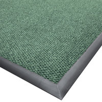 Cactus Mat 1410M-G35 Ultra-Berber 3' x 5' Sea Green Anti-Fatigue Carpet Mat - 1/2 inch Thick