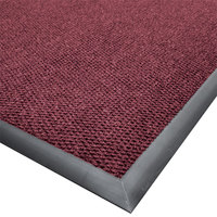 Cactus Mat 1410M-W35 Ultra-Berber 3' x 5' Burgundy Anti-Fatigue Carpet Mat - 1/2 inch Thick