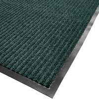 Cactus Mat 1485R-G4 4' x 60' Green Needle Rib Carpet Mat Roll - 3/8 inch Thick