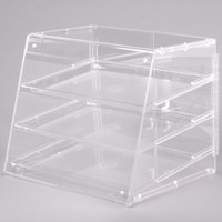 Cal-Mil 1011 Three Tier U-Build Classic Pastry Display Case 19 1/2 inch x 17 inch x 16 1/2 inch
