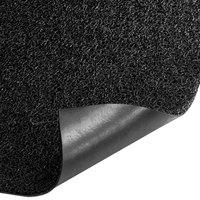 Cactus Mat 1350M-C46 3M Nomad 4' x 6' Black Vinyl Scraper Mat - 3/8 inch Thick