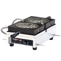 Krampouz WECDCAAS Single Belgian Waffle Maker - 120V, 1440W