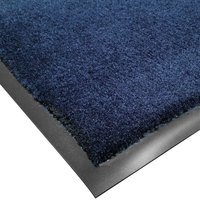 Cactus Mat 1438M-U31 Tuf Plush 3' x 10' Olefin Carpet Entrance Floor Mat - Navy
