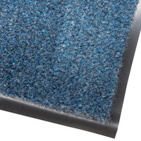 Cactus Mat 1462M-U35 Catalina Premium-Duty 3' x 5' Blue Olefin Carpet Entrance Floor Mat - 3/8 inch Thick