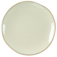 Tuxton GAS-002 TuxTrendz Artisan Sagebrush 6 1/2 inch China Plate - 24/Case
