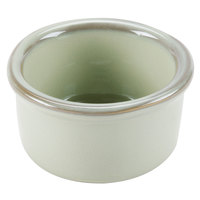 Tuxton GAS-752 Artisan Sagebrush 2.5 oz. China Ramekin - 24 / Case