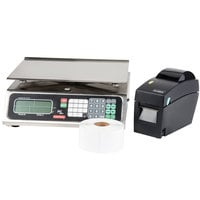 Tor Rey Price PC-40L 40 lb. Price Computing Scale with Printer Kit, Legal for Trade