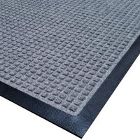 Cactus Mat 1425M-E35 Water Well I 3' x 5' Gray Classic Carpet Mat - Gray