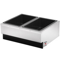 Vollrath 72789 Cayenne Two Pan Countertop Food Warmer - 120V, 1400W