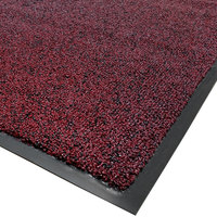 Cactus Mat 1465R-T3 Twist-Loop 3' x 60' Scraper Mat Floor Roll - Burgundy