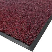 Cactus Mat 1465R-T3 Twist-Loop 3' x 60' Scraper Mat Floor Roll - Burgundy