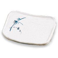Blue Bamboo Melamine Oblong Platter – 6 inch x 5 1/2 inch 12 / Pack