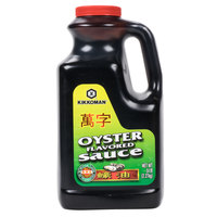 Kikkoman Oyster Flavored Sauce - (6) 5 lb. Containers / Case