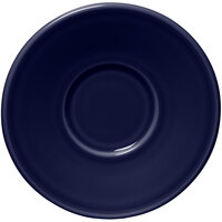 Homer Laughlin 293105 Fiesta Cobalt Blue 6 3/4 inch Jumbo Saucer - 12/Case