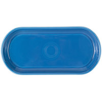Homer Laughlin 412337 Fiesta Lapis 12 inch x 5 3/4 inch Bread Tray - 6/Case