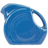 Homer Laughlin 475337 Fiesta Lapis 4.75 oz. Mini Disc Creamer Pitcher - 4 / Case