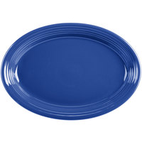 Homer Laughlin 458337 Fiesta Lapis 13 5/8 inch Platter - 12/Case