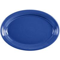 Homer Laughlin 458337 Fiesta Lapis 13 5/8 inch Platter - 12/Case