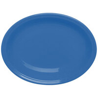 Homer Laughlin 458337 Fiesta Lapis 13 5/8 inch Platter - 12 / Case