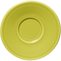 Homer Laughlin 293332 Fiesta Lemongrass 6 3/4 inch Jumbo Saucer - 12 / Case