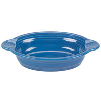 Homer Laughlin 587337 Fiesta Lapis 17 oz. Oval Baker - 4 / Case