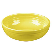 Homer Laughlin 1458320 Fiesta Sunflower 38 oz. Medium Bistro Bowl - 6/Case