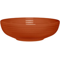 Homer Laughlin 1459334 Fiesta Paprika 68 oz. Large Bistro Bowl - 4/Case