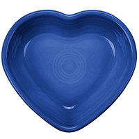 Homer Laughlin 747337 Fiesta Lapis 9 oz. Heart Bowl - 4/Case