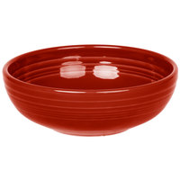 Homer Laughlin 1458326 Fiesta Scarlet 38 oz. Medium Bistro Bowl   - 6/Case