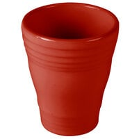 Homer Laughlin 1453326 Fiesta Scarlet 12 oz. Bath Tumbler - 4/Case