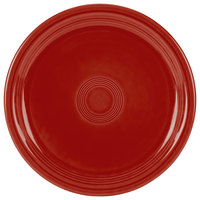 Homer Laughlin 749326 Fiesta Scarlet 9 inch Round Healthcare Plate - 12/Case