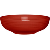 Homer Laughlin 1459326 Fiesta Scarlet 68 oz. Large Bistro Bowl - 4 / Case