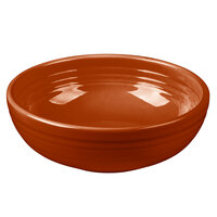 Homer Laughlin 1458334 Fiesta Paprika 38 oz. Medium Bistro Bowl - 6/Case