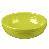 Homer Laughlin 1458332 Fiesta Lemongrass 38 oz. Medium Bistro Bowl - 6/Case