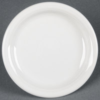 Homer Laughlin 1461100 Fiesta White 6 3/4 inch Round Appetizer Plate - 12 / Case