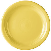 Homer Laughlin 1461320 Fiesta Sunflower 6 3/4 inch Round Appetizer Plate - 12/Case