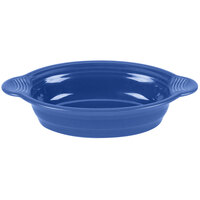 Homer Laughlin 815337 Fiesta Lapis 24 oz. Large Oval Baker - 3 / Case