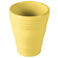 Homer Laughlin 1453320 Fiesta Sunflower 12 oz. Bath Tumbler - 4/Case