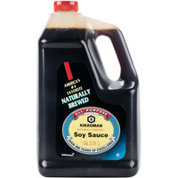 Kikkoman Naturally Brewed Soy Sauce - (4) 1 Gallon Containers / Case