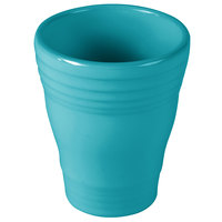 Homer Laughlin 1453107 Fiesta Turquoise 12 oz. Bath Tumbler - 4/Case