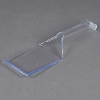 Fineline 3313-CL Platter Pleasers 10 inch Clear Disposable Spatula - 48 / Case