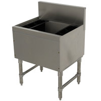 Advance Tabco PRI-19-30-10-XD Prestige Series Stainless Steel Underbar Ice Bin with 10-Circuit Cold Plate - 20 inch x 30 inch