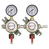 Micro Matic 1162 Dual Gauge Premium Series Secondary CO2 Low-Pressure Regulator