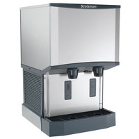 Scotsman HID525A-1 Meridian Countertop Air Cooled Ice Machine and Water Dispenser - 25 lb. Bin Storage