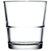 Libbey 15769 Restaurant Basics 12 oz. Stackable Double Old Fashioned Glass - 24 / Case