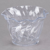 Cambro SRB5152 Clear Plastic Swirl Bowl 5 oz. - 24/Case